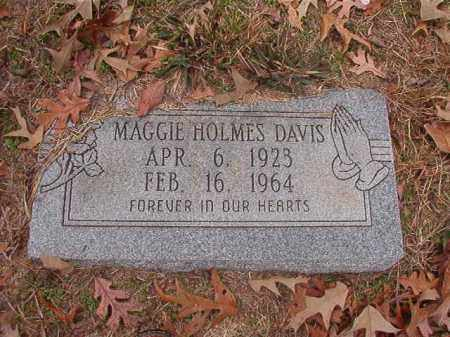 DAVIS, MAGGIE - Columbia County, Arkansas | MAGGIE DAVIS - Arkansas Gravestone Photos