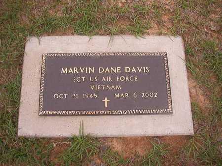 DAVIS (VETERAN VIET), MARVIN DANE - Columbia County, Arkansas | MARVIN DANE DAVIS (VETERAN VIET) - Arkansas Gravestone Photos