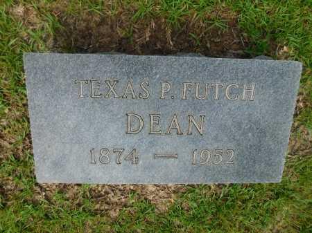 FUTCH DEAN, TEXAS P - Columbia County, Arkansas | TEXAS P FUTCH DEAN - Arkansas Gravestone Photos