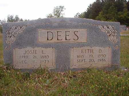 DEES, ETTIE D - Columbia County, Arkansas | ETTIE D DEES - Arkansas Gravestone Photos