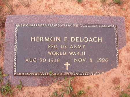 DELOACH (VETERAN WWII), HERMON E - Columbia County, Arkansas | HERMON E DELOACH (VETERAN WWII) - Arkansas Gravestone Photos