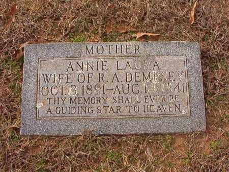 DEMPSEY, ANNIE LAURA - Columbia County, Arkansas | ANNIE LAURA DEMPSEY - Arkansas Gravestone Photos