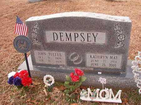 DEMPSEY, JOHN TULLUS - Columbia County, Arkansas | JOHN TULLUS DEMPSEY - Arkansas Gravestone Photos