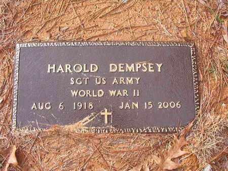 DEMPSEY (VETERAN WWII), HAROLD - Columbia County, Arkansas | HAROLD DEMPSEY (VETERAN WWII) - Arkansas Gravestone Photos