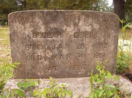 DENNIS, BEULAH - Columbia County, Arkansas | BEULAH DENNIS - Arkansas Gravestone Photos