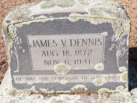 DENNIS, JAMES V - Columbia County, Arkansas   JAMES V DENNIS - Arkansas Gravestone Photos