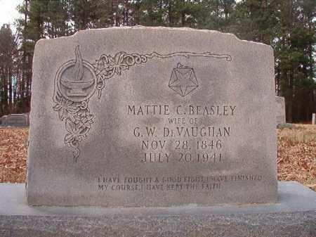 DEVAUGHAN, MATTIE C - Columbia County, Arkansas   MATTIE C DEVAUGHAN - Arkansas Gravestone Photos