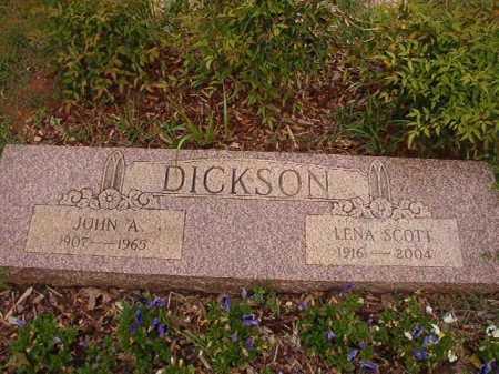 DICKSON, LENA - Columbia County, Arkansas | LENA DICKSON - Arkansas Gravestone Photos