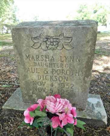 DICKSON, MARSHA LYNN - Columbia County, Arkansas | MARSHA LYNN DICKSON - Arkansas Gravestone Photos