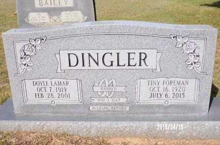 DINGLER, DOYLE LAMAR - Columbia County, Arkansas | DOYLE LAMAR DINGLER - Arkansas Gravestone Photos