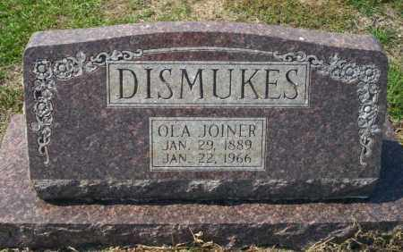 JOINER DISMUKES, OLA - Columbia County, Arkansas | OLA JOINER DISMUKES - Arkansas Gravestone Photos