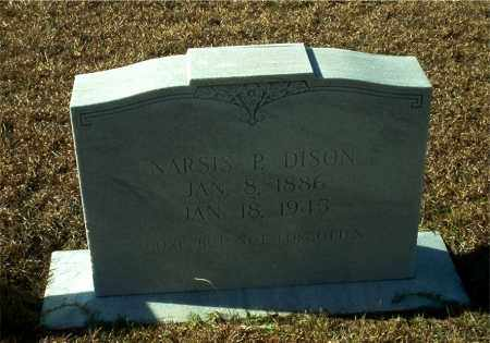 DISON, NARSIS P. - Columbia County, Arkansas | NARSIS P. DISON - Arkansas Gravestone Photos