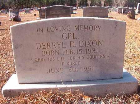 DIXON (VETERAN KOR, POW), DERRYL D - Columbia County, Arkansas | DERRYL D DIXON (VETERAN KOR, POW) - Arkansas Gravestone Photos