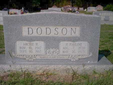 DODSON, H. PAULINE - Columbia County, Arkansas | H. PAULINE DODSON - Arkansas Gravestone Photos