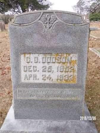 DODSON, C D - Columbia County, Arkansas   C D DODSON - Arkansas Gravestone Photos