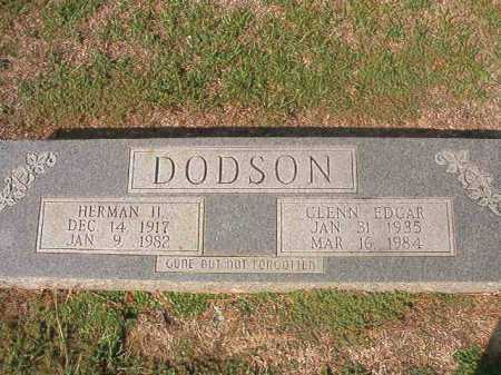 DODSON, HERMAN H - Columbia County, Arkansas | HERMAN H DODSON - Arkansas Gravestone Photos