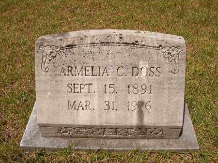 DOSS, ARMELIA C - Columbia County, Arkansas | ARMELIA C DOSS - Arkansas Gravestone Photos