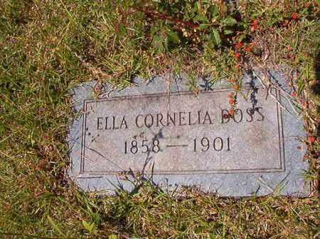 DOSS, ELLA CORNELIA - Columbia County, Arkansas   ELLA CORNELIA DOSS - Arkansas Gravestone Photos