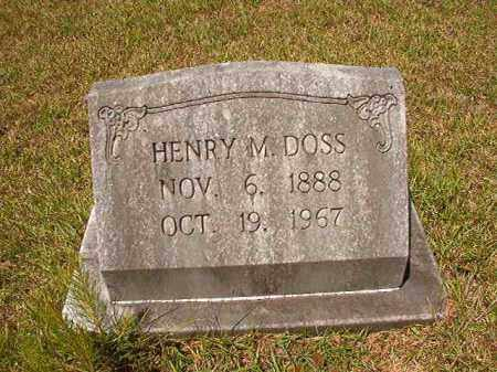 DOSS, HENRY MADDEN - Columbia County, Arkansas | HENRY MADDEN DOSS - Arkansas Gravestone Photos