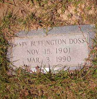 DOSS, MARY - Columbia County, Arkansas | MARY DOSS - Arkansas Gravestone Photos