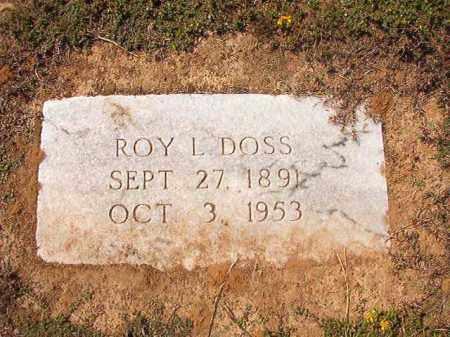DOSS, ROY L - Columbia County, Arkansas | ROY L DOSS - Arkansas Gravestone Photos