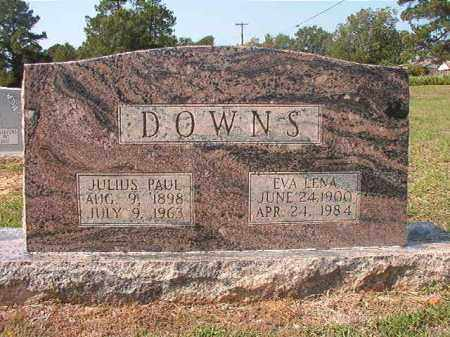DOWNS, EVA LENA - Columbia County, Arkansas | EVA LENA DOWNS - Arkansas Gravestone Photos