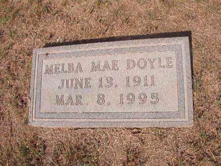 DOYLE, MELBA MAE - Columbia County, Arkansas   MELBA MAE DOYLE - Arkansas Gravestone Photos