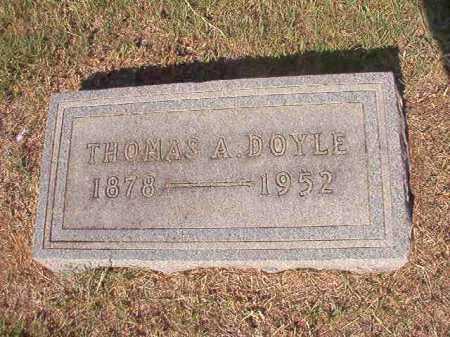 DOYLE, THOMAS A - Columbia County, Arkansas | THOMAS A DOYLE - Arkansas Gravestone Photos