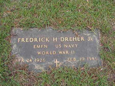 DREHER, JR (VETERAN WWII), FREDERICK H - Columbia County, Arkansas | FREDERICK H DREHER, JR (VETERAN WWII) - Arkansas Gravestone Photos