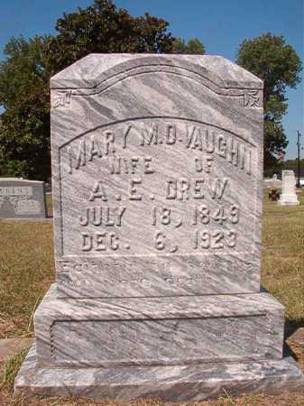 DREW, MARY M D - Columbia County, Arkansas | MARY M D DREW - Arkansas Gravestone Photos