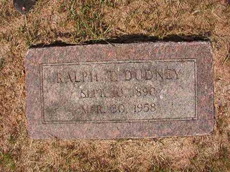 DUDNEY, RALPH T - Columbia County, Arkansas   RALPH T DUDNEY - Arkansas Gravestone Photos