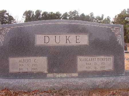 DEMPSEY DUKE, MARGARET - Columbia County, Arkansas   MARGARET DEMPSEY DUKE - Arkansas Gravestone Photos