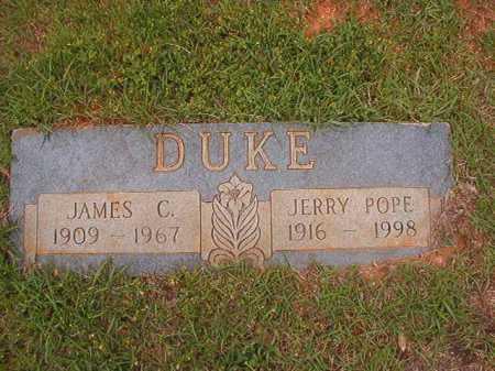 POPE DUKE, JERRY - Columbia County, Arkansas | JERRY POPE DUKE - Arkansas Gravestone Photos