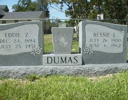 DUMAS, BESSIE L - Columbia County, Arkansas   BESSIE L DUMAS - Arkansas Gravestone Photos