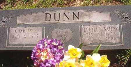 BAILEY DUNN, LUCILLE - Columbia County, Arkansas | LUCILLE BAILEY DUNN - Arkansas Gravestone Photos