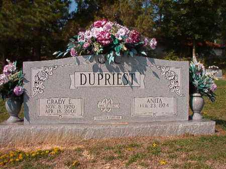 DUPRIEST, GRADY E - Columbia County, Arkansas | GRADY E DUPRIEST - Arkansas Gravestone Photos