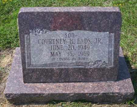 EADS JR., COURTNEY H - Columbia County, Arkansas   COURTNEY H EADS JR. - Arkansas Gravestone Photos