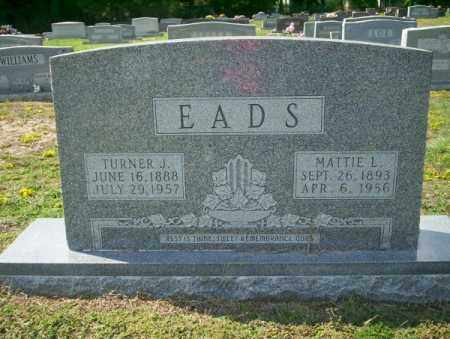 EADS, TURNER J - Columbia County, Arkansas | TURNER J EADS - Arkansas Gravestone Photos