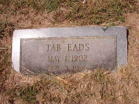 EADS, TAB - Columbia County, Arkansas | TAB EADS - Arkansas Gravestone Photos