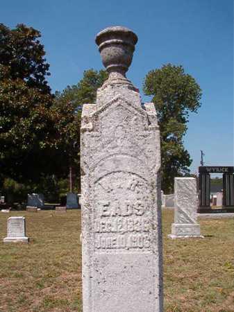 EADS, W R - Columbia County, Arkansas   W R EADS - Arkansas Gravestone Photos
