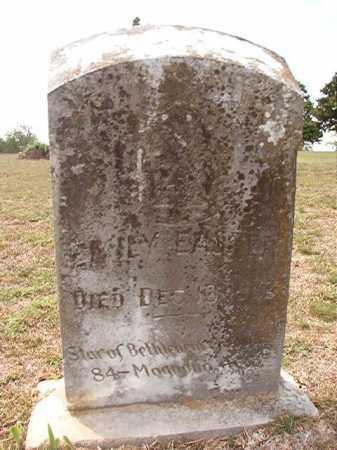 EASTER, EMILY - Columbia County, Arkansas | EMILY EASTER - Arkansas Gravestone Photos