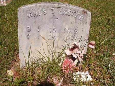 EASTER, JAMES D - Columbia County, Arkansas | JAMES D EASTER - Arkansas Gravestone Photos