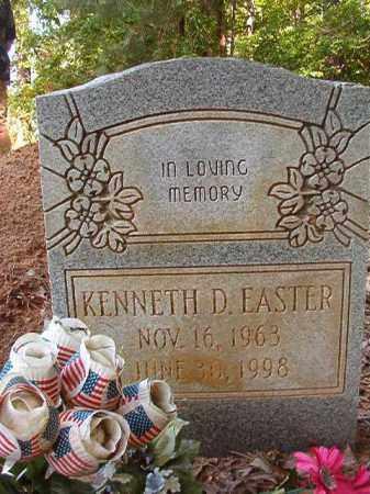 EASTER, KENNETH D - Columbia County, Arkansas | KENNETH D EASTER - Arkansas Gravestone Photos