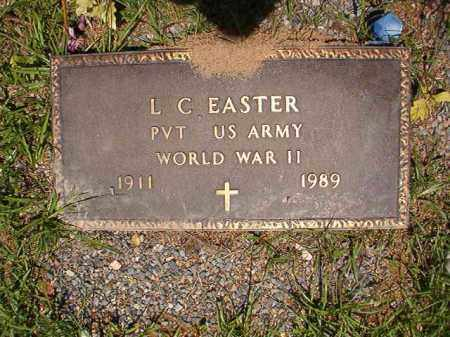 EASTER (VETERAN WWII), L C - Columbia County, Arkansas   L C EASTER (VETERAN WWII) - Arkansas Gravestone Photos