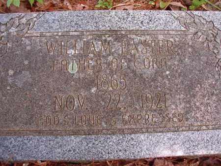 EASTER, WILLIAM - Columbia County, Arkansas | WILLIAM EASTER - Arkansas Gravestone Photos