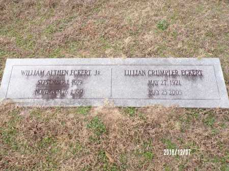 ECKERT, JR, WILLIAM ALTHEN - Columbia County, Arkansas | WILLIAM ALTHEN ECKERT, JR - Arkansas Gravestone Photos