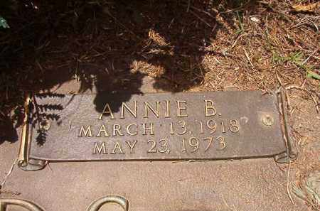 EDWARDS, ANNIE B - Columbia County, Arkansas   ANNIE B EDWARDS - Arkansas Gravestone Photos