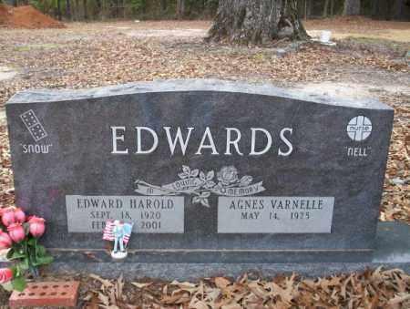 EDWARDS, EDWARD HAROLD - Columbia County, Arkansas | EDWARD HAROLD EDWARDS - Arkansas Gravestone Photos