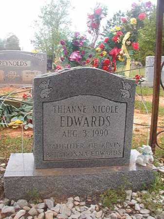 EDWARDS, THIANNE NICOLE - Columbia County, Arkansas | THIANNE NICOLE EDWARDS - Arkansas Gravestone Photos