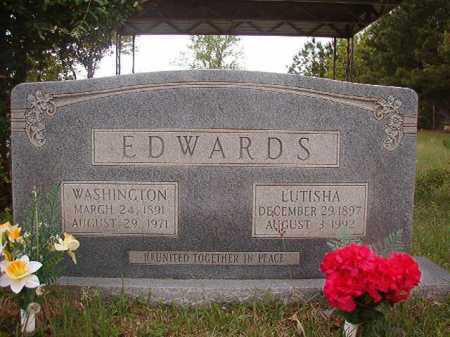 EDWARDS, WASHINGTON - Columbia County, Arkansas | WASHINGTON EDWARDS - Arkansas Gravestone Photos